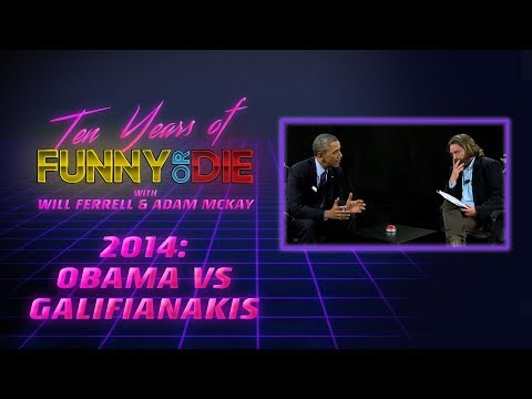 Will Ferrell and Adam McKay Remember Obama vs Galifianakis (10 Years of Funny Or Die - 2014)