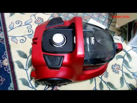 Fakir Veyron Turbo Öko Kuru Tip Toz Torbasız Elektrik Süpürgesi Kullanım, Videolu İnceleme