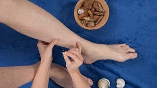 Acupuncture. How to lose weight by pressing on your body points