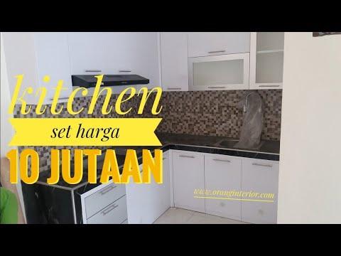 Kitchen minimalis harga 10 jutaan
