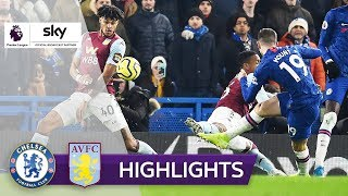 Volley-Traumtor sichert Chelsea Sieg | FC Chelsea - Aston Villa 2:1 | Highlights - Premier League