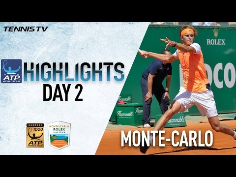 Highlights: Zverev Rolls, Berdych Advances At Monte-Carlo Rolex Masters