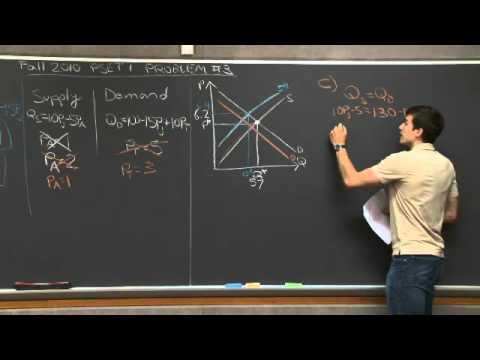 Problem Set 1, Problem #3 | MIT 14.01SC Principles of Microeconomics