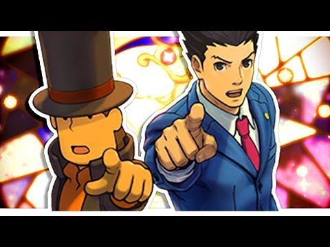 【 Professor Layton VS Phoenix Wright: Ace Attorney 】First case! *Blind Play through*