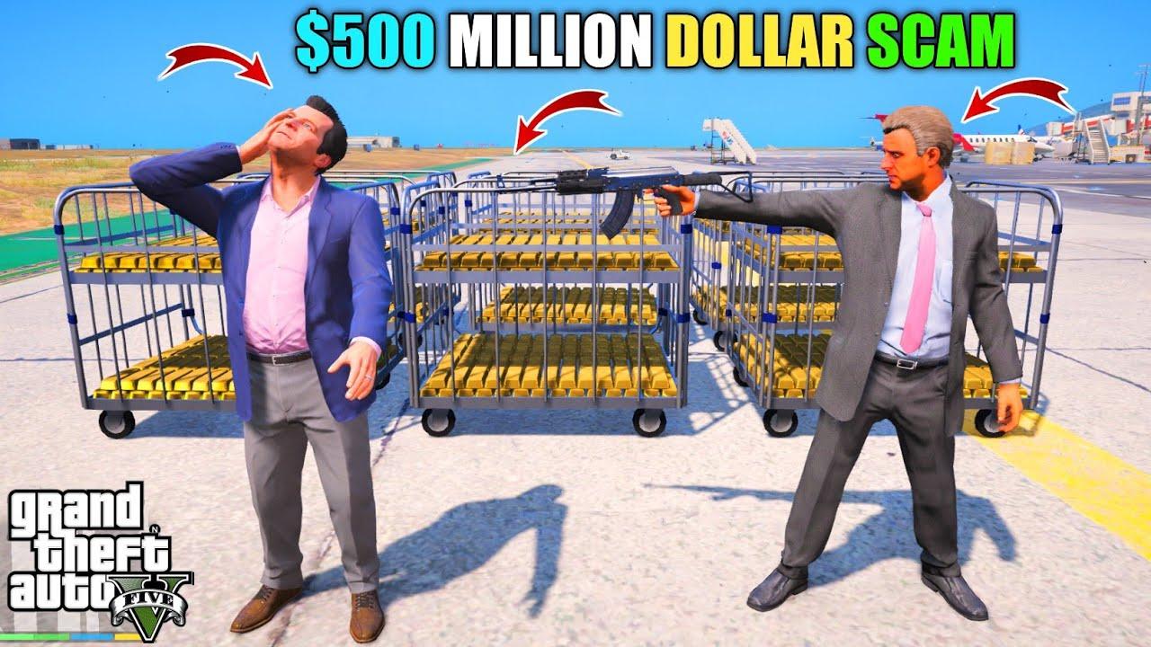 GTA 5 : MICHAEL LOST $500 MILLION DOLLAR DIAMONDS    BB GAMING