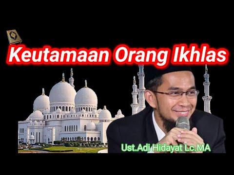 Ceramah Ustadz Adi Hidayat Lc, MA terbaru 2017