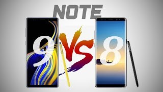 Samsung Galaxy Note 9 VS Note 8 - What
