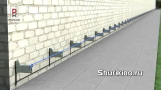 видео Монтаж вентилируемых фасадов. Инструкция последовательности монтажных работ вертикальной системы нвф.