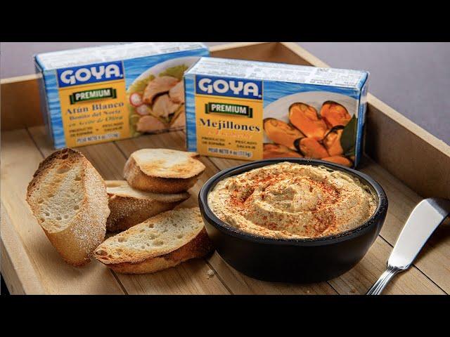 Paté de Mejillones y Atún Bonito Goya - Chef Omar Álvarez