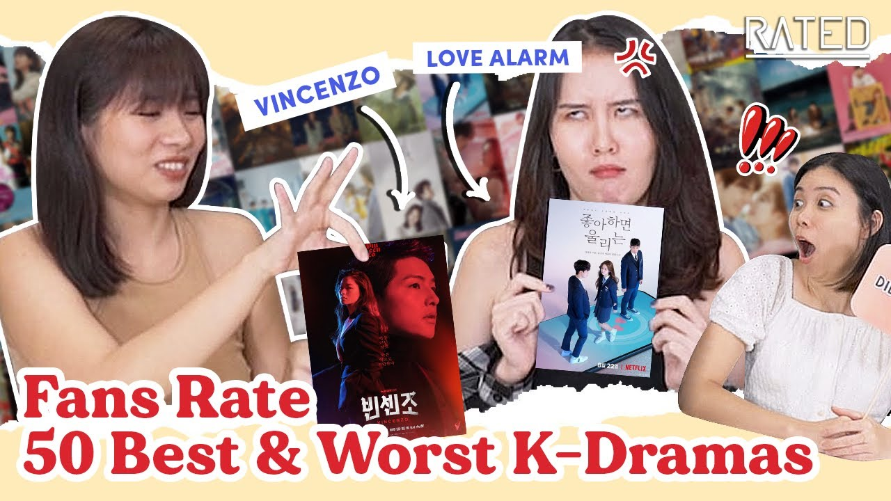 Korean Drama Fans Rate 50 Best And Worst K-Dramas