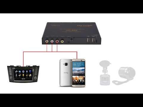 TV Receiver Mobil / Car Digital TV Tuner by ASUKA HR-600 www.otowstore.com