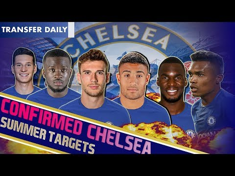 Chelsea Transfer News || Club TRANSFER TARGETS for the SUMMER! || LWB, CM, no10 & ST Wanted!