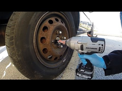 Tire Rotation With The Mastercraft Maximum High Torque Impact Wrench Review