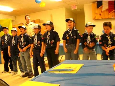 """""""We are the Cub Scouts"""""""