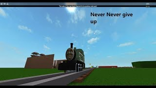 Roblox: Never Never Give Up Instrumental MV