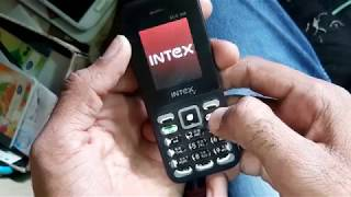INTEX ECO 105 PHONE  LOCK  SOLUTION  FLESHING 100% Tested