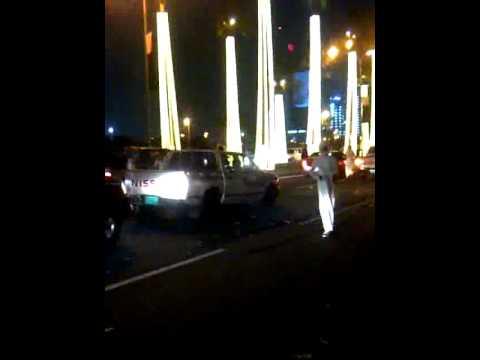 Qatar National Day 2011 - Night car parade(masseera) Part 2