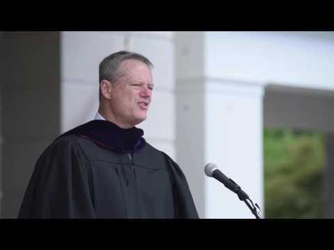 Union College 2016 Commencement Speaker Charlie Baker