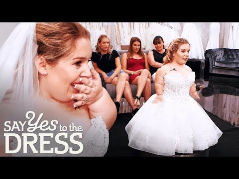 🔴3 Foot Bride Gets Emotional After Finding the Dress of Her Dreams! | Say Yes To The Dress
