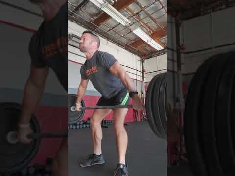 Pause snatch from lift off 1*1*4 @165 set 4