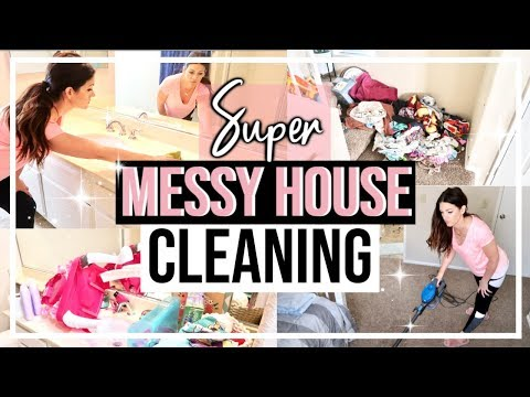 EXTREME CLEAN WITH ME | WHOLE HOUSE CLEANING MOTIVATION 2019