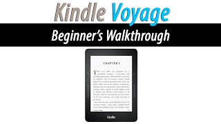 How to Use the Kindle Voyage (Beginner's Walkthrough) | H2TechVideos