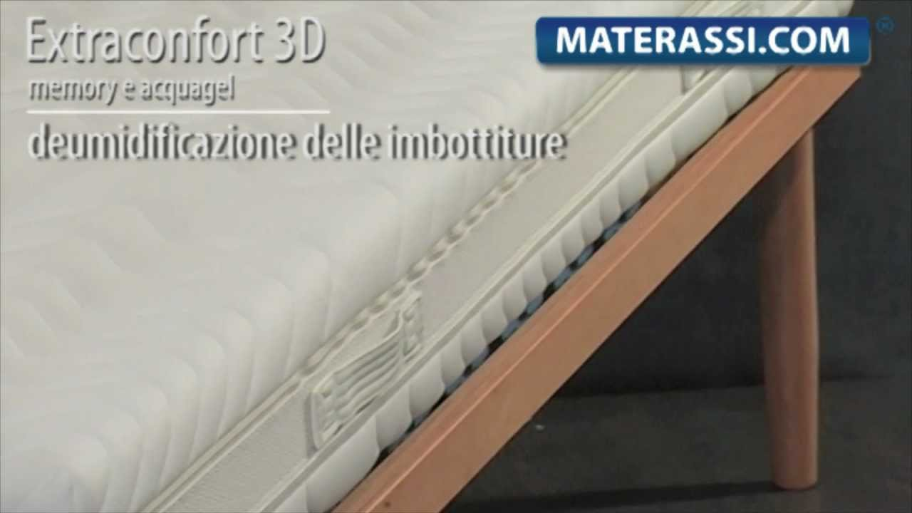 Materasso in Memory Foam - YouTube