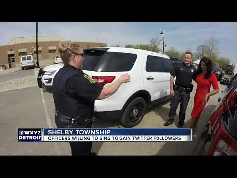 Shelby Township Police will perform Carpool Karaoke if they reach 5K Twitter followers