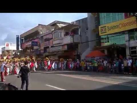 Municipality of Baungon - Kaamulan 2014 Street Dancing