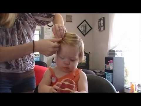 styling baby girl hair how to toddler hair styles 9920 | hqdefault