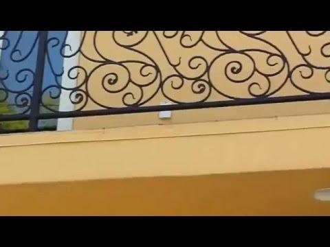 Decorative Iron Window Security | Mulholland Security 1.800.562.5770
