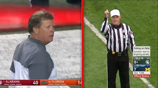 College Football Ejections Compilation