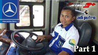 Video Edisi Khusus: Review Bus Mercedes Benz OH 1626 AirSuspension. Karoseri Adi Putro