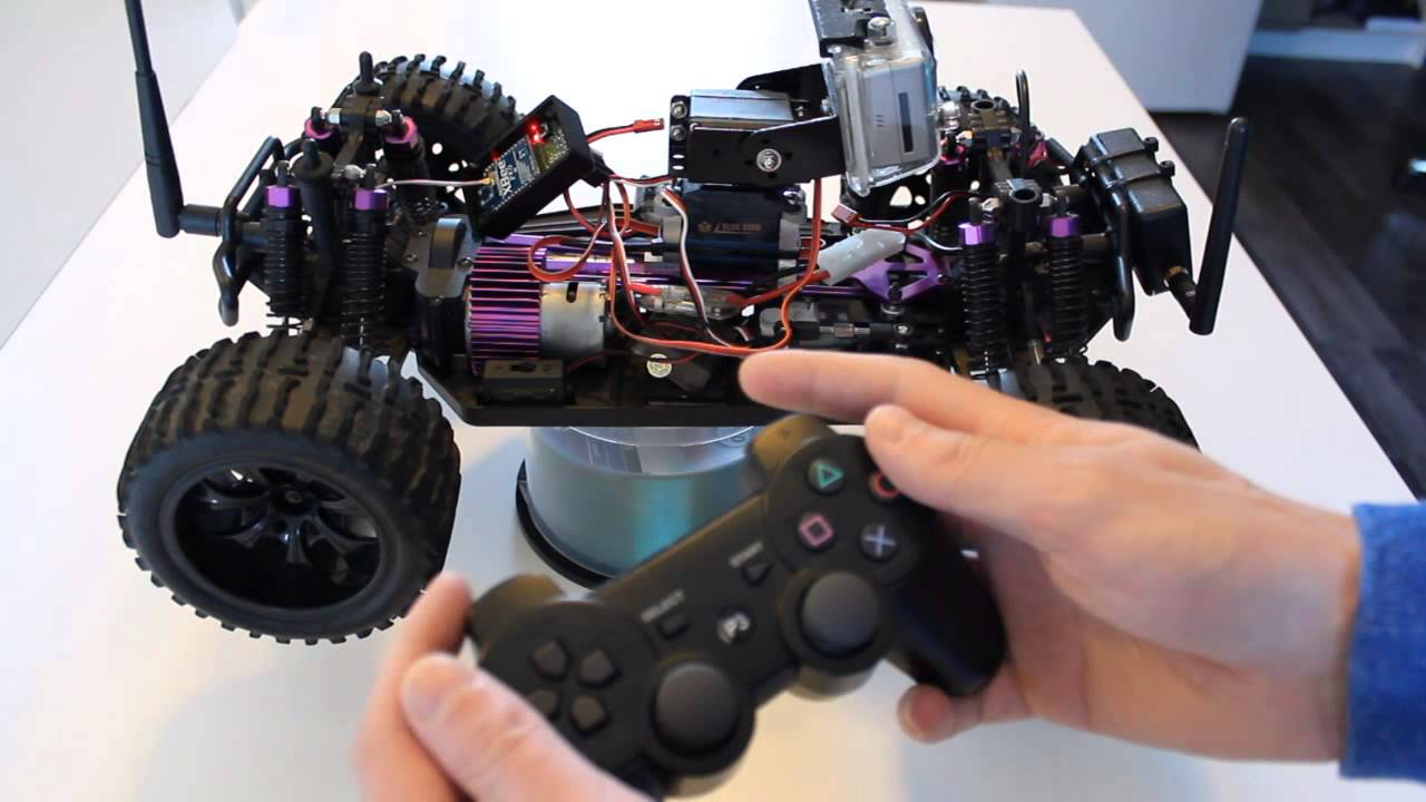 Remote Control Anything With A PS3 Controller | Hackaday
