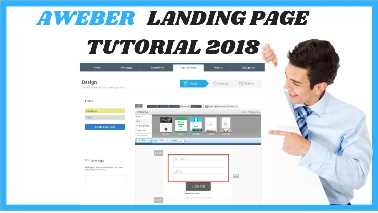 The Best Strategy To Use For Aweber Landing Pages