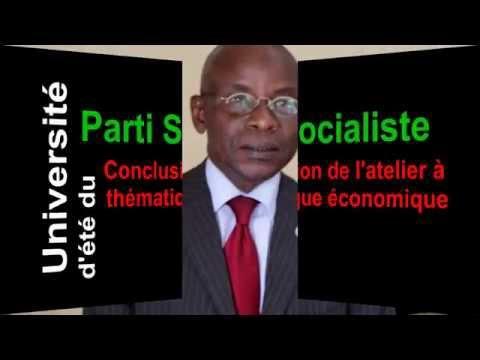 Université d'été du Parti socialiste 2015