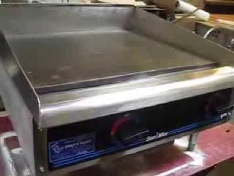 Star Max 624md 24 Quot Flat Grill Item Code 14900 Youtube