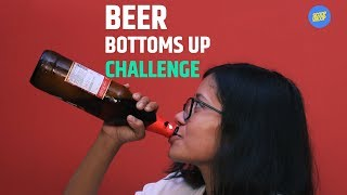 ScoopWhoop The Beer Bottoms Up Challenge