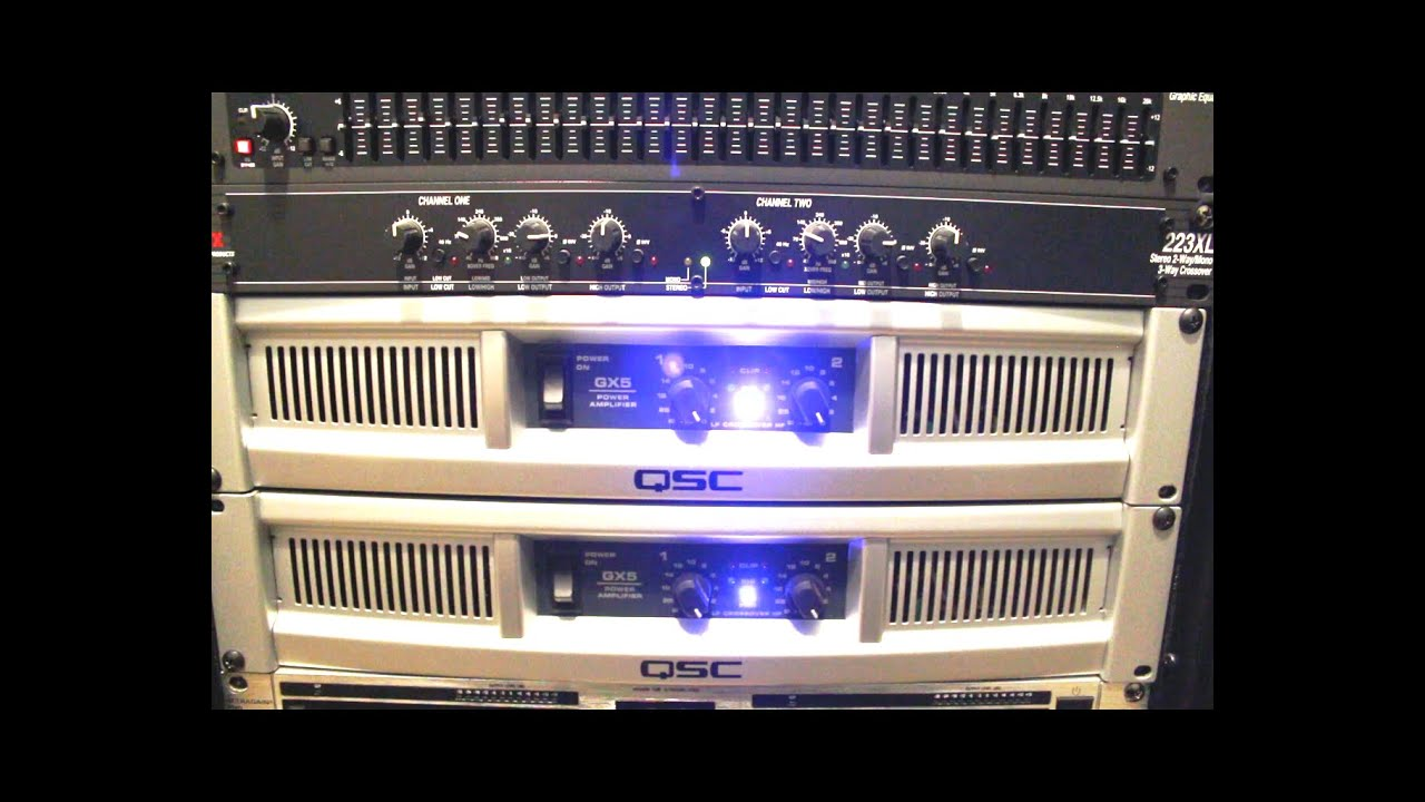hight resolution of how to setup active crossover dbx 223xl into your pa system dj setup live bands live events