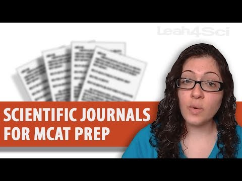 Scientific Journals for MCAT Passage Reading Practice
