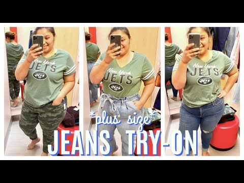 *Plus Size*   Target Jeans Try-On   PART 2/2  Melinda Willz