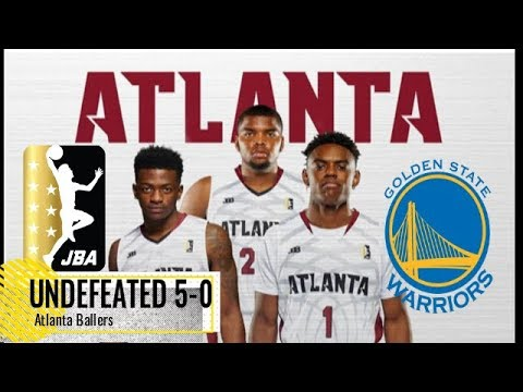 Are the Atlanta Ballers the Warriors of the JBA League??? MUST ...