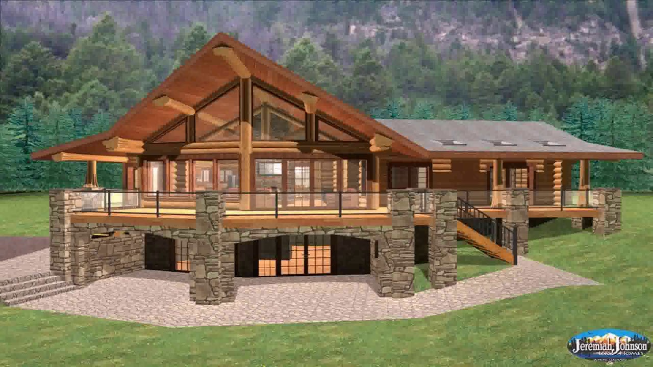 Timber Frame House Plans With Walkout Basement - DaddyGif com
