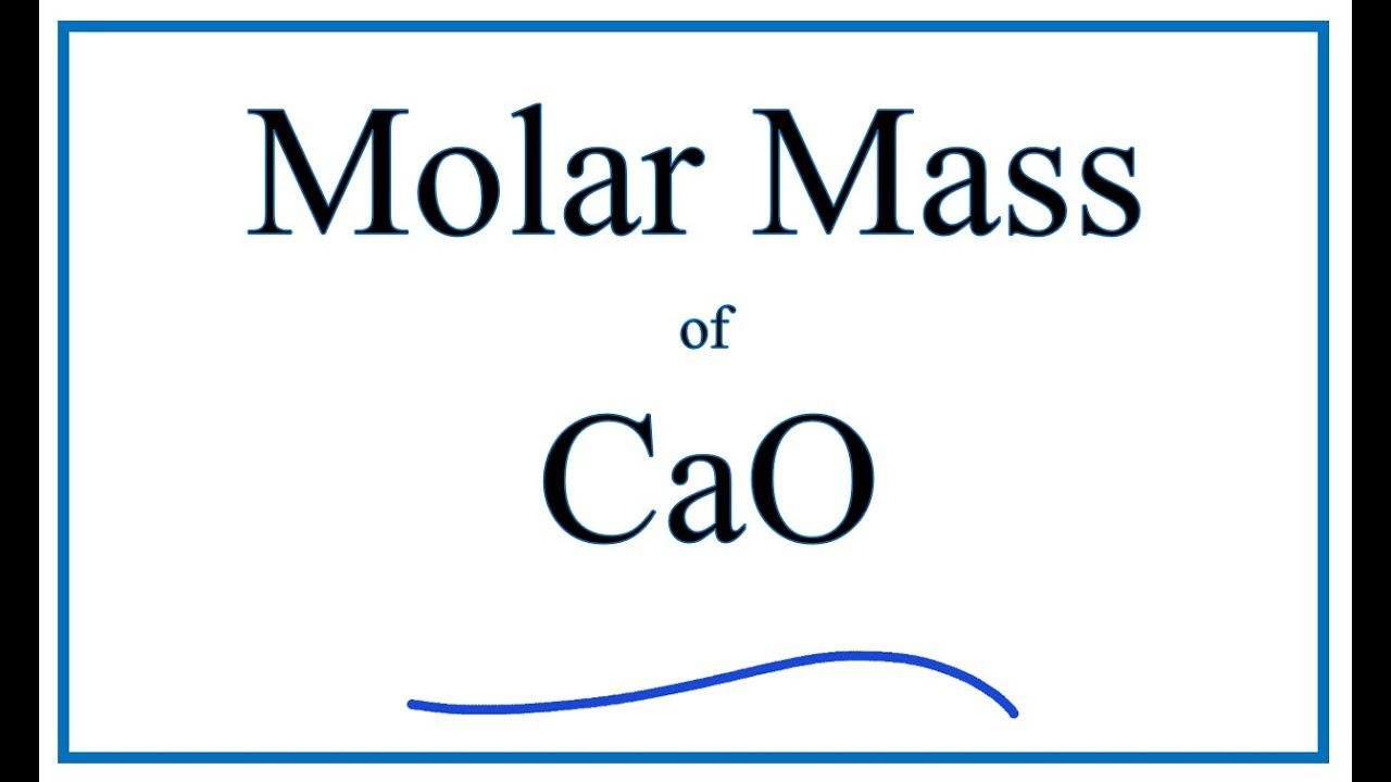 Ca2+ Molar Mass