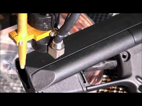 Engraver's Choice Boss Laser Gun Stock Video