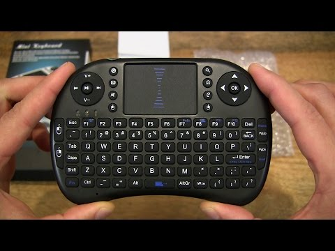 VicTsing 2.4Ghz Wireless Handheld Mini Keyboard