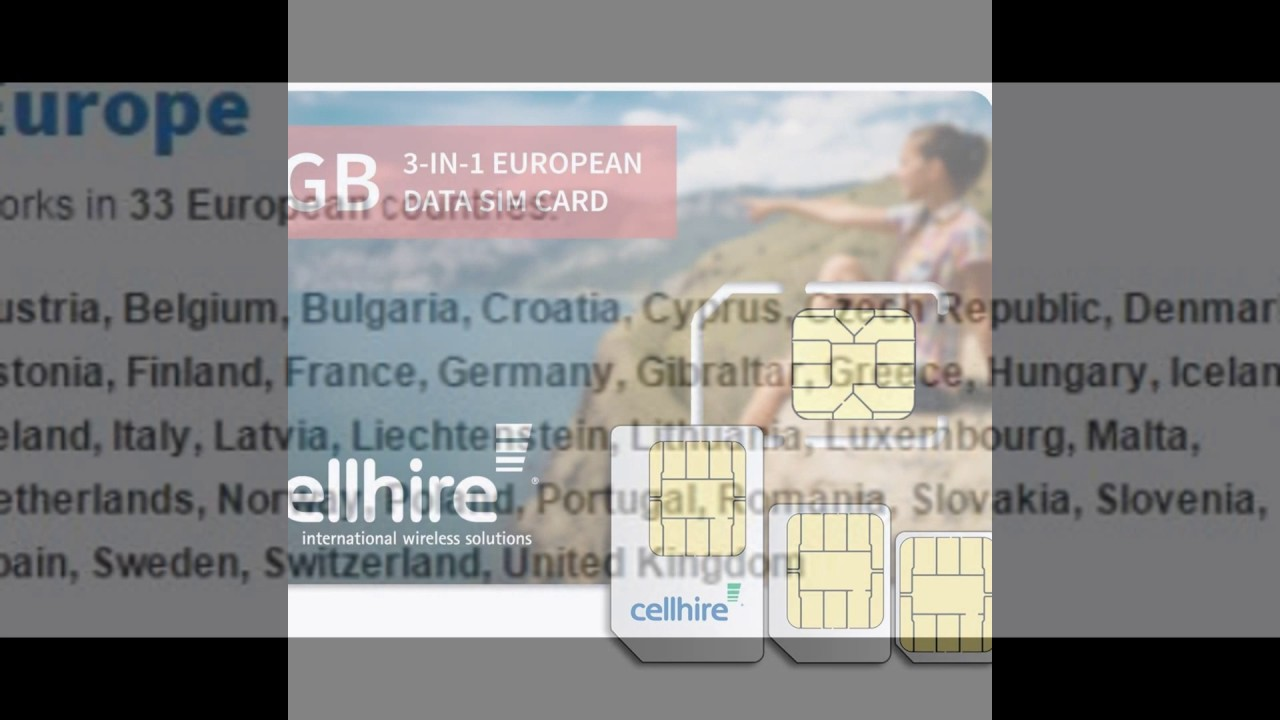cellhire prepaid europe data sim card europe 2gb bundle 33 countries 3 in 1 sim - Prepaid Sim Card Europe Data