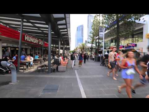 Cavil Mall Surfers Paradise Gold Coast Queensland Australia
