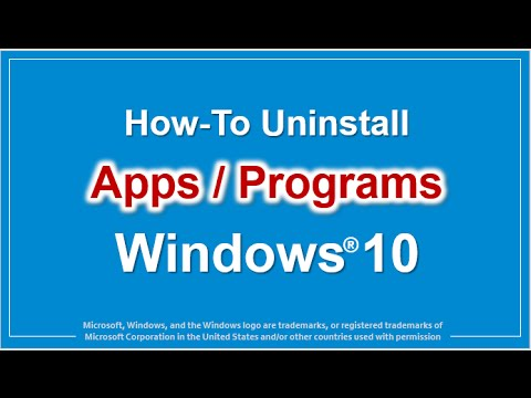 how-to-uninstall-apps-in-windows-10
