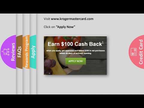 Kroger Credit Card Reviews -  [Apply Online $100 Bonus ]